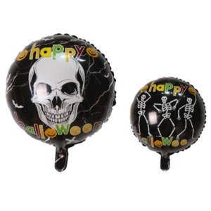 Halloween Skull Pumpkin black cat Witch Pattern Balloon High Quality Party Decoration Novel Festive Atmosphere