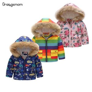 2021 Official Store Fashion Autumn And Winter Cute Children's Coat Baby Boys And Girls Winter Snowsuits kids jackets outwear H0909