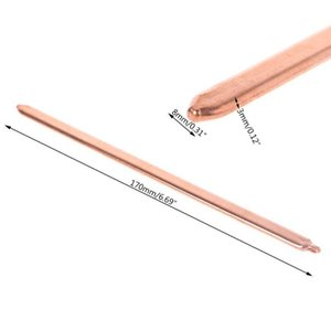 Fans & Coolings 80 130 170 220 300mm Pure Copper Tube Flat Heatsink Cooler For Laptop Notebook