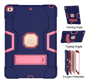 Tablet Cases For Ipad 6 Air2 Pro9.7 Air 5 2 3 4 Kickstand Functions Camera Protection Shock Proof Cover With Pen Holder