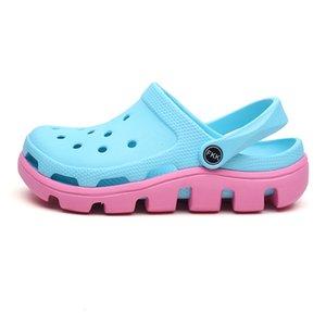 Hot Sale-Garden Shoes Aqua Summer Croc Terlik Sandals Gladiator Sandalias Zapatos De Hombre