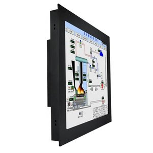 Monitors Custom Logos Wall Mount Industrial 8.4 Inch Capacitive Touch Screen Monitor