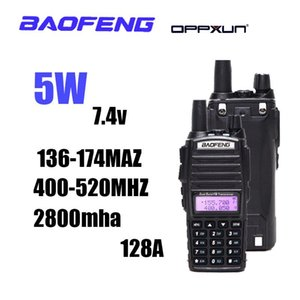 Baofeng Walkie Talkie UV82 CB Radio Station VHF UHF Dual Band UV 82 Двухсторонняя ветчина