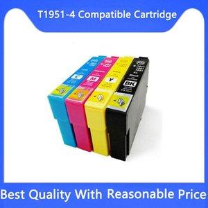 Ink Cartridges T1951 T1952 T1953 T1954 Compatible Cartridge For XP-101 201 211 401 204 104 214 411 WF-2532 Printer