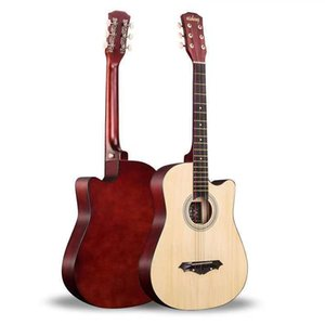 Guitar 38 inch folk music for beginners and novice guitars boys girls practice piano