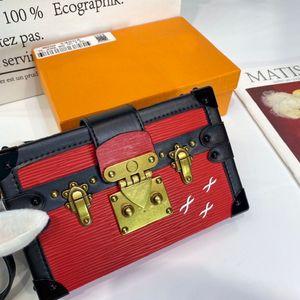 2021 mini fashion Genuine leather women shoulder bag letter handbags change wallets classic womens crossbody Evening box bags Luxurys Designers M40273