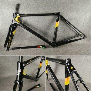 T1000 UD Matte brillant or noir avec logo noir Colnago C64 Carbon Road Cadres de vélo Vélo Frameet Carbon Road Cadre Taille 48/50 / 52/54 / 56cm