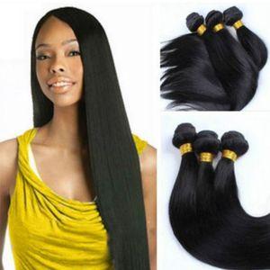 Larga peluca negra larga Pelucas de pelo sintético Paquetes Resistente al calor Fibra Cosplay Peluca Peluca / peluca diaria para mujeres