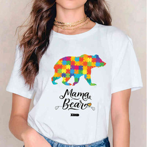 Flower Women 2020 Mama Dinosaur Funny Mother Print T-shirt Clothing Tshirts Womens Mother Ladies Graphic Tea T-shirt Clothing
