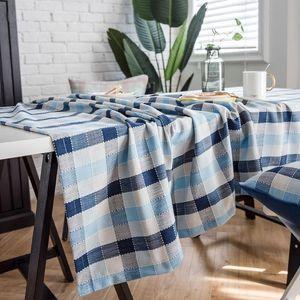 Table Cloth Cotton Linen Tablecloth Rectangular Home El Restaurant For Cover Dining Desk