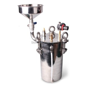 With addition funnel liquid level display 304 dispensing bucket 1L-100L, support custom stainless steel pressure tank