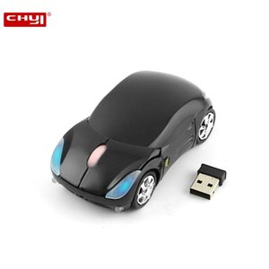 Wireless Cool Car Shape Computer Mini Mouse 2.4G USB Optical 3D 1600 DPI Gaming Mice For PC Desktop Notebook Laptop