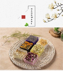 Rose handmade soap, essential oil jasmine lavender plant flower and skin beauty souvenir Moisturizing Lady Face Cleaning Soap Girl