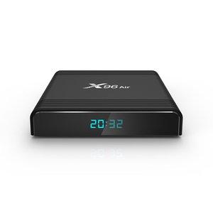2021 فونتار X96 الهواء تلفزيوني الهواء الروبوت 9 9.0 Amlogic S905x3 مصغرة 4 جيجابايت 64 جيجابايت 32 جيجابايت واي فاي 4 كيلو 8 كيلو x96air tvbox مجموعة أعلى مربع وسائل الإعلام