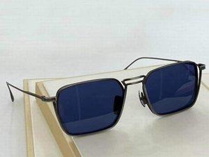 Lunettes de soleil carrées bleues des Lunettes de Soleil Hommes Mode Top qualité avec boîte