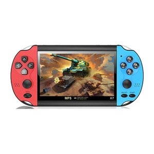 Portable Game Players Handheld X7+ 4.3 Inch Gift For Kids 3000 Games Retro Video Player Console