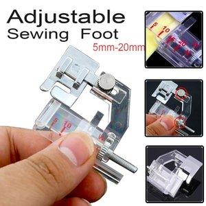 1pc Productos Máquina de coser DIY Presser Foot Sapt On Ajustable Bias Tape Binding Nociones Herramientas