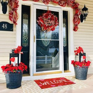 Valentine's Day Welcome Doormats Home Carpets Living Room Carpet For Household Decoration Mat Bath Mats