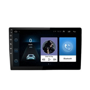 Android Car Stereo 10.1 inch Touch Screen with GPS Navigation Double Din Bluetooth FM Receiver Support Phone Mirror Link Dual USB Interface Backup Camera