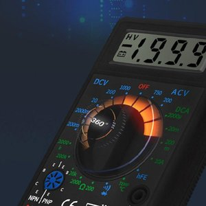 Multimeters DT838 Digital Multimeter Tester AC DC Voltage Current Resistance Temp Test Meter 83XA