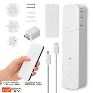 Smart Home Control Tuya WIFI M515EGWT Pull Bead Curtain Motor Electric Motors APP   Voice Quiet Alexa Google
