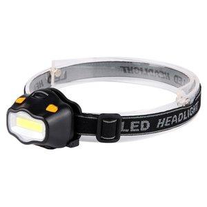 Mini Waterproof COB LED Headlamp 3 Modes Safety Headlight Camping Head Lamp B1 Headlamps