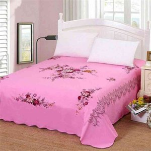 Fort Hope Bedding Sheet (not include pillowcase) Cotton Bedsheet Home Textile Printing Flat Sheets Combed Cotton Bed Sheet F0165 210420