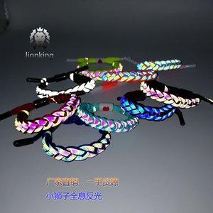 Lionking 홀로그램 반사 트렌드 패션 라이온 팔찌 선물 익스 룩스마