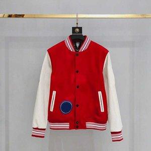 2021 дизайнерская настройка бейсбольная куртка мужская одежда Топы одежды Молодежные повседневные модные буквы или номера Куртки размером M-2XL