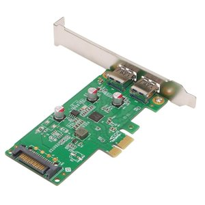 Computer Cables & Connectors PCIex1 To Type-A Dual-Port USB Expansion Desktop PCIE Four-Port 3.0 Adapter Card