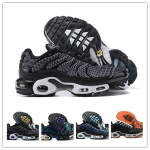 High Quality 2021 Original TN Mens SpOrts ShOes Cheap Air Plus Obsidian UNC White black Breathable mesh 8909 Chaussures RequiN Trainers