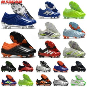 Sıcak Mens Copa 20+ 20.1 FG Işbirliği Hassas Bulanıklık Glory Hunter Uniforia Slip-On 20 + X 19 + X Futbol Futbol Ayakkabı Boots Cleats US6.5-11