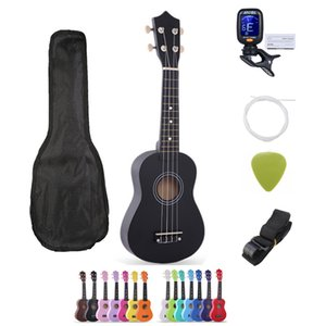 SevenAngel Ukulele 21 inch Children Ukelele Soprano 4 Strings Hawaiian Spruce Basswood Guitar Uke Kids Gift Music Instrument