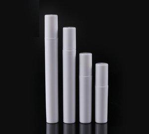 Fashion 2ml 3ml 4ml 5ml Mini Portable Trial Package Plastic Spray Bottle Empty Perfume Test Tube Black White
