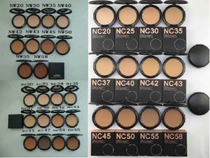 Makeup NC NW Colors Pressed Powder with Puff 15g Brand Beauty Cosmetics Pressed Face Powder Foundation Top Quality