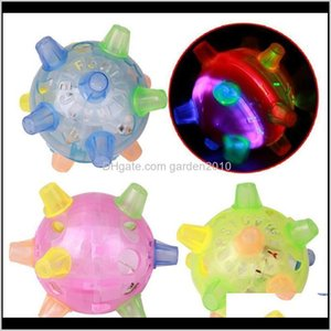Chews Pet Supplies Home Garden Drop Delivery 2021 Baby Kids Jumping Activation Cat Dog Chew Electric Dancing Ball Gift Novelty Gag Toys Lumin