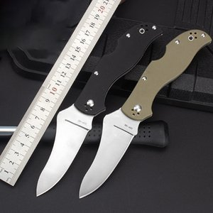 High quality hardness folding knife outdoor camping defense sharp Knives G10 tactical EDC tool HW256