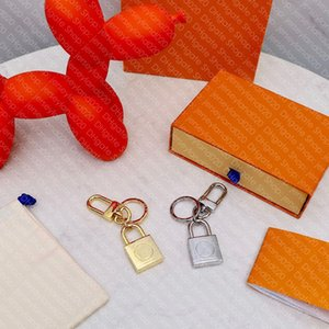 MP2985 B.F.F. PADLOCK BAG CHARM KEY HOLDER Parts Accessories Designer Keyring Fashion Keyholder