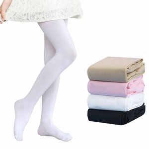Quality Girls Pantyhose Tights Kids Dance Socks Candy Color Children Velvet Elastic Legging Clothes Baby Ballet Stockings 174 Y2
