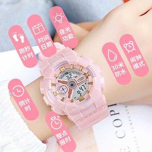 Children's electronic watch Girls' fashion Korean version simple junior high school girls' sports machinery yuansufeng