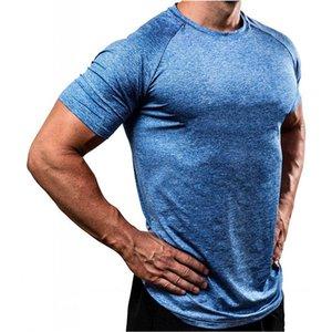 Slim Fit Sport Tshirt Tshirt Fintss T Shirts Hombres Camisa de compresión Gimnasia Camiseta Camiseta Elástica Camisetas Cuerda masculina Cuerda de los deportes Top