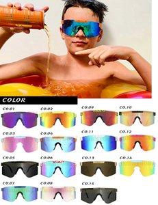 Sommer Mode Mann TR90 Sonnenbrille doppelt breit Polarisierte gespiegelte Brille Polarisation Linse Radfahren Glasse 15Polo Outdoor Winddichte Gläser Ultraleichte Sportarten