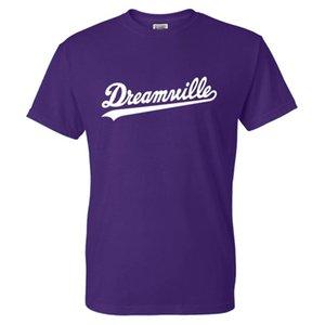 Коул графическая футболка Dreamville сплошной цвет сплошной печати Смешные мужчины женщины повседневные старинные футболки хлопчатобумажная футболка Tees Tees Teps Unisex