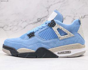 University Blue Jumpman 4 4s fashion shoe Mens Basketball Shoes