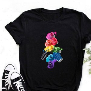 Women T Shirt 3D Print 90s Vogue Fashion Tops Tumblr Clothes Womens Ladies Graphic Female Tee Drop Ship
