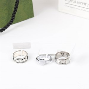Designer Ring Band Rings for Man Women Fashion Style Gifts Temperament Simplicity Trend Accessories High Quality