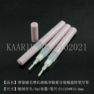10 30 100pcs 3ml Pink Empty DIY Makeup Rotating Pen Lip Gloss Eyelash Growth Liquid Bottle Ciliary Hormone Storage Bottles & Jars