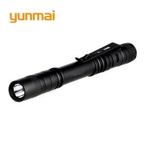 Yunmai Waterproof Q5 LED High Power Penlight 2000LM Mini Spot Lamp Portable Work Camping Equipment Torch Flashlights Torches