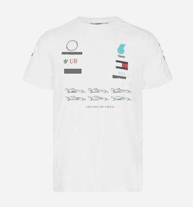 F1 Formula One Course Course Tee shirt à manches courtes pour l'équipe de voiture peut être personnalisé 2021