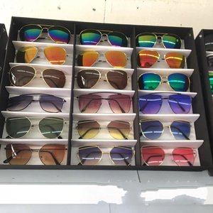 18Pcs Glasses Storage Display Case Box Eyeglass Sunglasses Optical Display Organizer Frames Spectacles Tray 34 W2